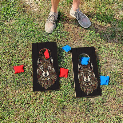 Wild Wolf | Fun Size Mini Cornhole Game