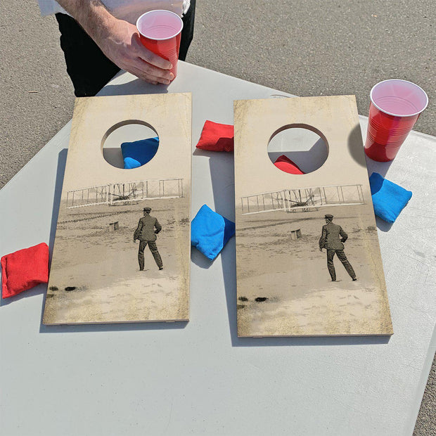 Wright Brothers - First In Flight | Fun Size Mini Cornhole Game