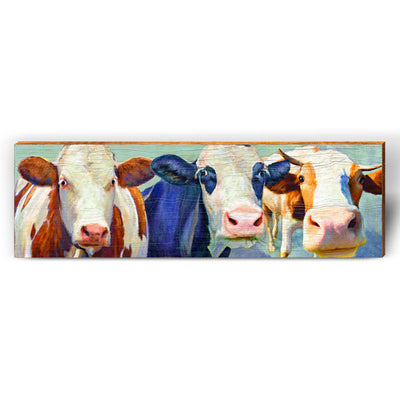 Whimsy Cow Collection-Mill Wood Art