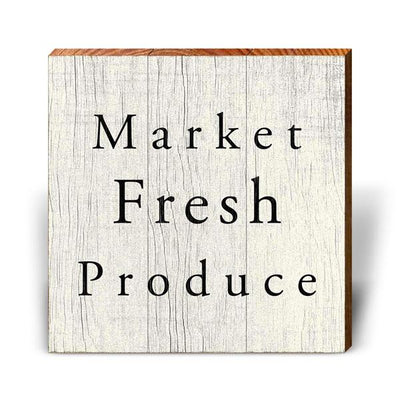 Market Fresh Produce-Mill Wood Art