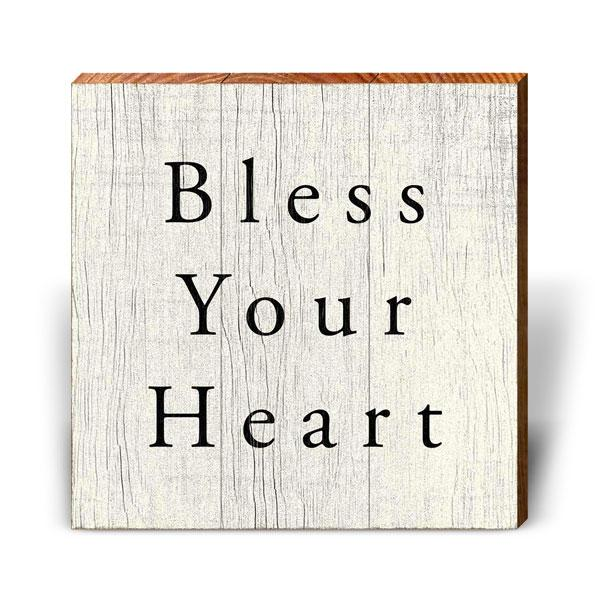 Bless Your Heart-Mill Wood Art