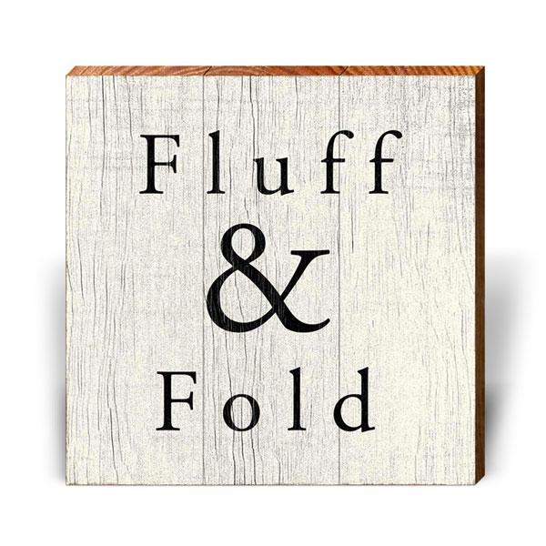 Fluff & Fold-Mill Wood Art