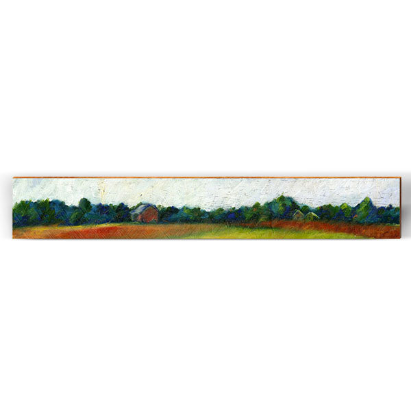 "Flowing Painted Farm Large Piece | Size: 9.5"" x 60""-Mill Wood Art"