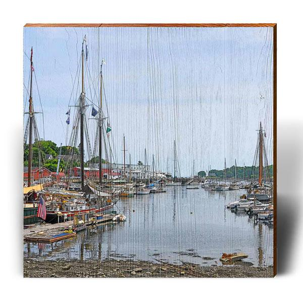 Old Harbor Blues-Mill Wood Art