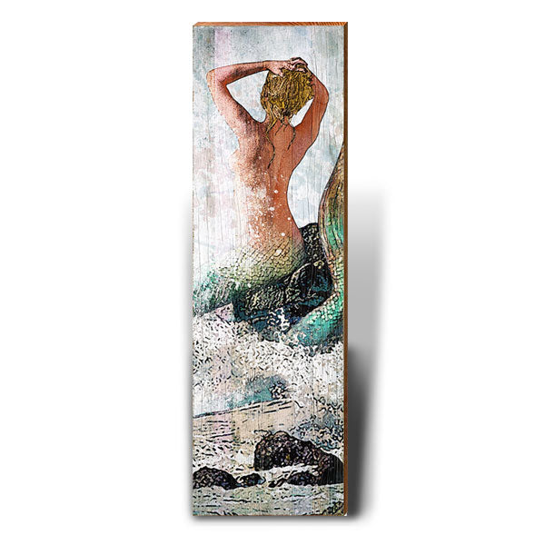 Mermaid Fantasy-Mill Wood Art