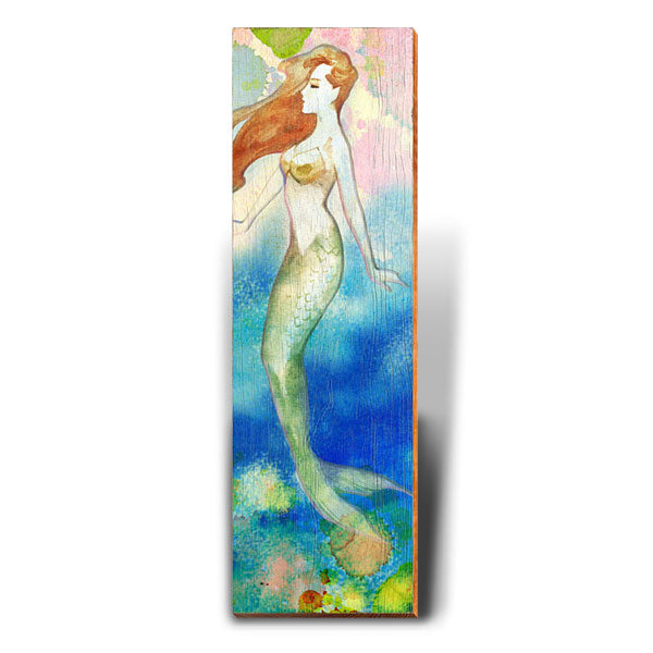 Mermaid Dreams-Mill Wood Art