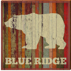 Blue Ridge Bear Orange Boards MOU12