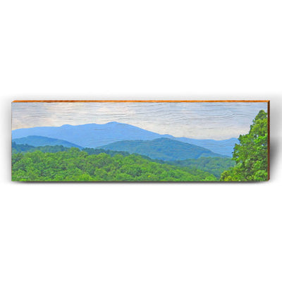 Blue Ridge Piece-Mill Wood Art