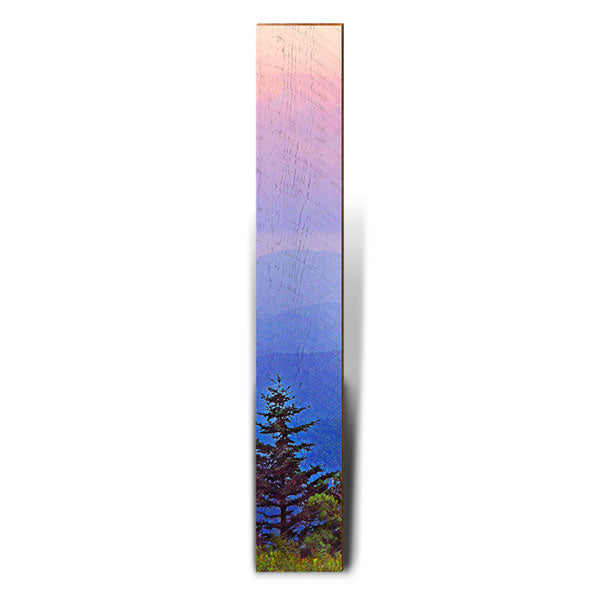 "Sunrise Mountains Large Piece | Size: 9.5"" x 60""-Mill Wood Art"