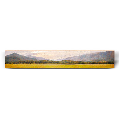 "Open Field Valley Large Piece | Size: 9.5"" x 60""-Mill Wood Art"