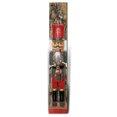 "Nutcracker Percussionist | Size: 9.5"" x 60""-Mill Wood Art"