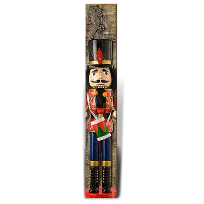 "Nutcracker Drummer | Size: 9.5"" x 60""-Mill Wood Art"