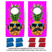 POP! Collection Pineapple Fun Size Cornhole Set-Mill Wood Art