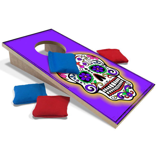 POP! Collection Calavera Skull Fun Size Cornhole Set-Mill Wood Art
