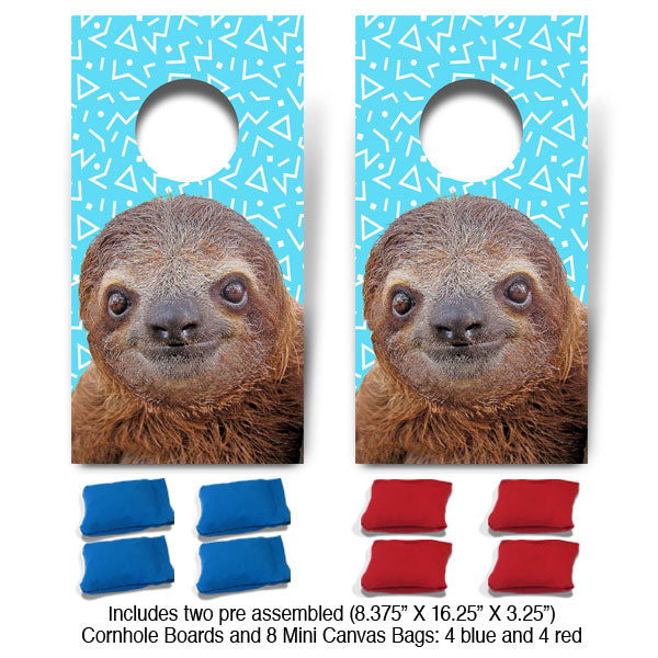 POP! Collection Sloth Fun Size Cornhole Set-Mill Wood Art