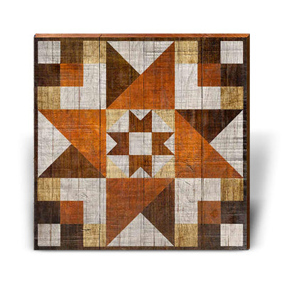 Café Barn Quilt-Mill Wood Art