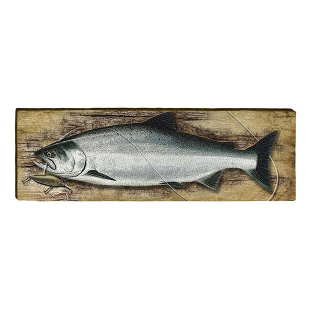 Atlantic Salmon Piece-Mill Wood Art