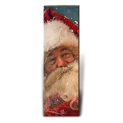 Santa Claus Portrait-Mill Wood Art