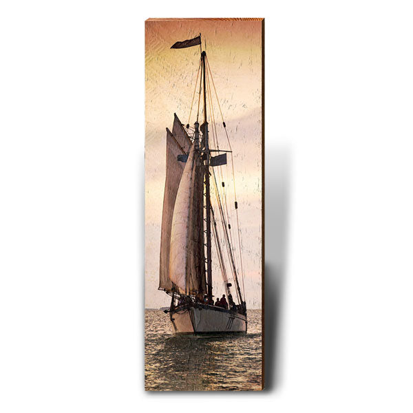 Schooner than Later-Mill Wood Art