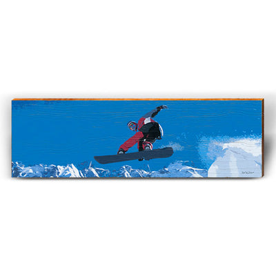 Radical Rider - Snowboard-Mill Wood Art