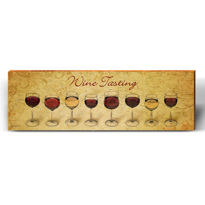 Wine Tasting Art Piece-Mill Wood Art