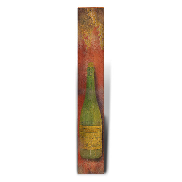 "White Wine Rustic Large Art Piece | Size: 9.5"" x 60""-Mill Wood Art"