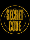 Men's Secret Code Circles Letters T-Shirt