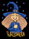 Kids Attitude Witch Halloween T-Shirt