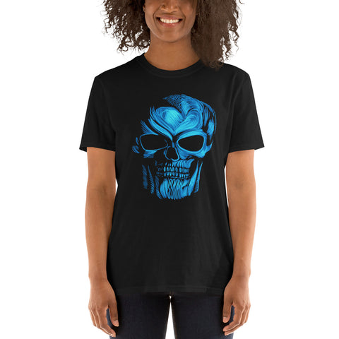 Women's Blue Skill Short-Sleeve T-Shirt