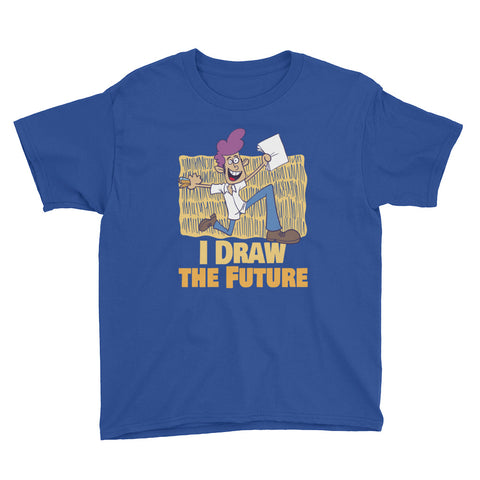 Youth Draw Future Short Sleeve T-Shirt