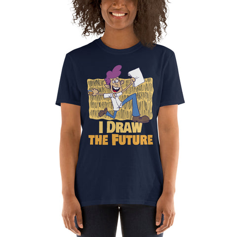 Women Men Draw Future Short-Sleeve Unisex T-Shirt