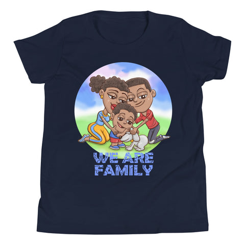 Kids Dog Family Short Sleeve T-Shirt