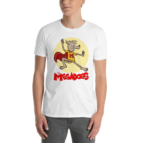 Men Megadogs Miller Short-Sleeve Unisex T-Shirt
