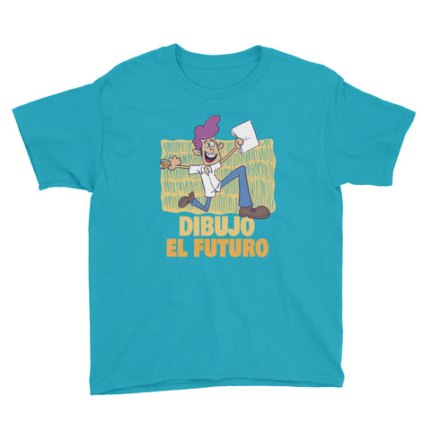 Kids Dibujo el Futuro Youth Short Sleeve T-Shirt