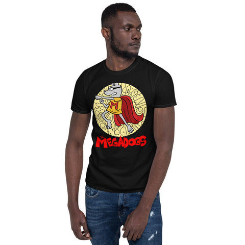 Men Megadogs Bud Short-Sleeve Unisex T-Shirt