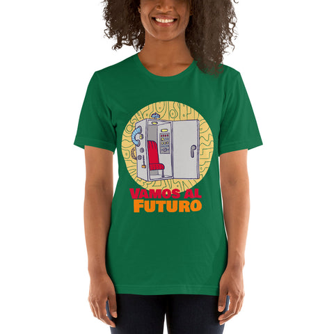 Men Women Vamos al Futuro SC Short-Sleeve Unisex T-Shirt