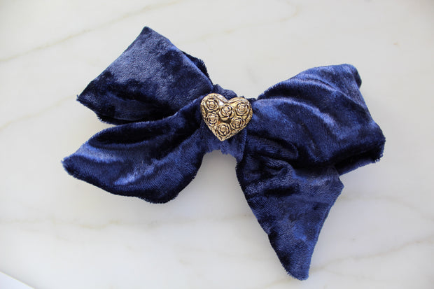 Blue Rose Ever Blooming Bow Set