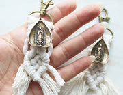 "Our Lady of Guadalupe Macrame (5"")"