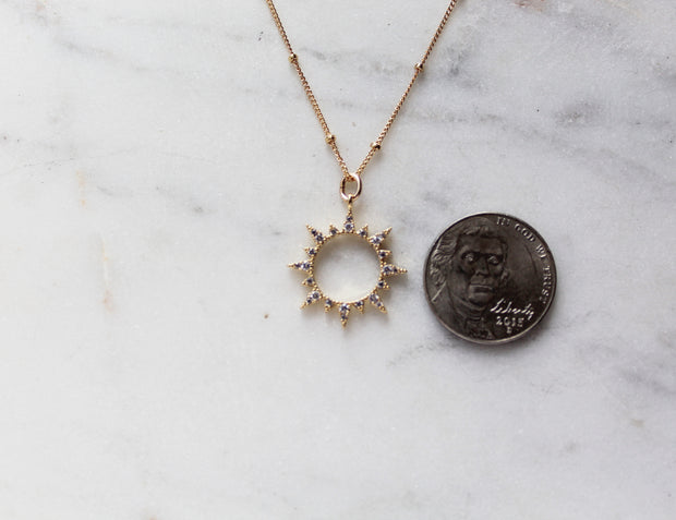 Crown of Eternal Life necklace