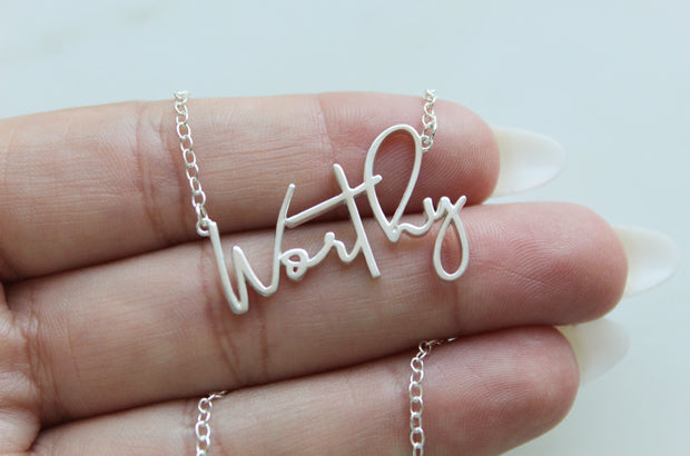 Worthy (Sterling Silver)