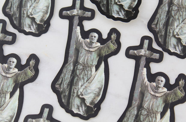 Saint Junipero Serra Sticker