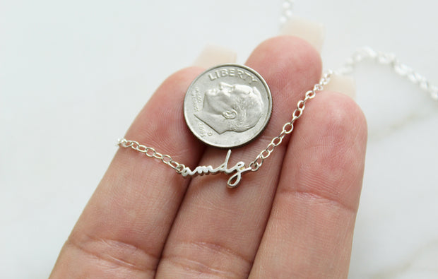 amdg Necklace (Sterling Silver)