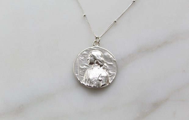 St. Joan Of Arc Necklace