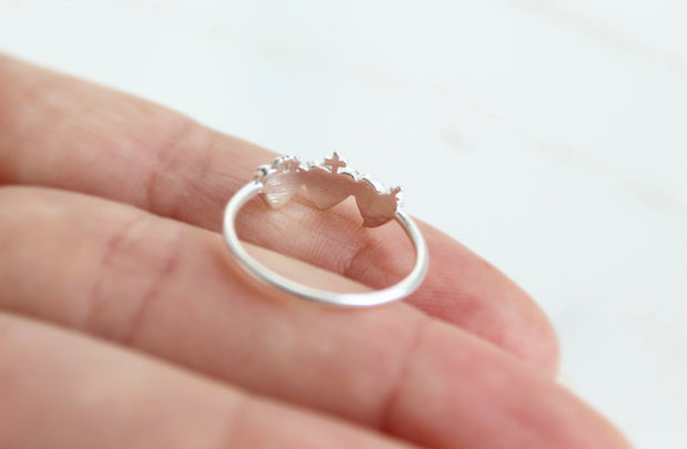 Holy Family Hearts Ring
