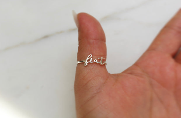 Fiat Ring *925 Sterling Silver*