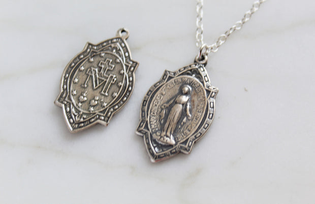 Old World Miraculous Medal
