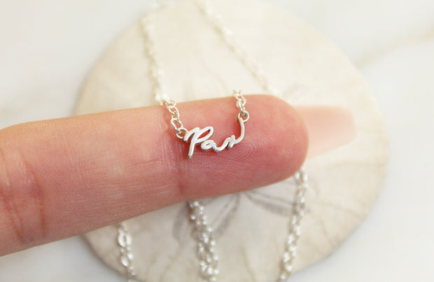 Pax Necklace (Sterling Silver)
