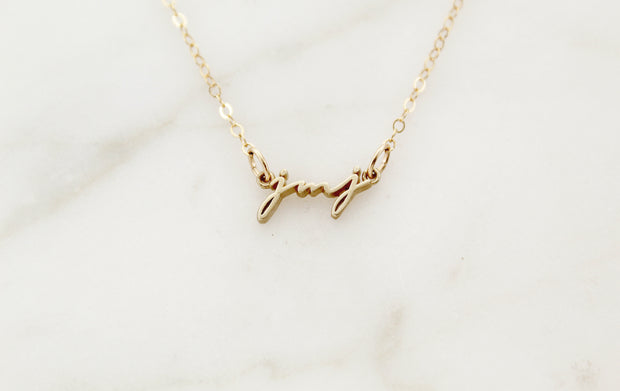 JMJ Necklace