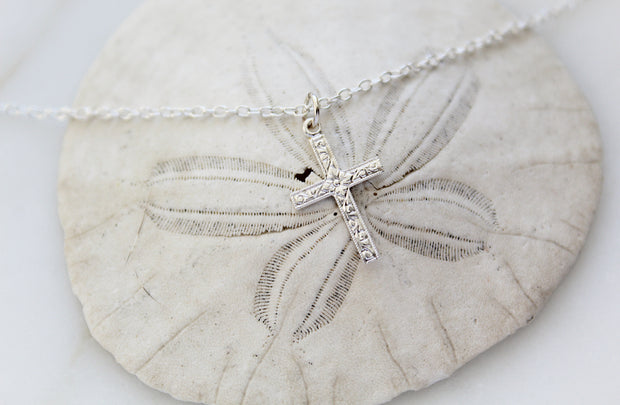 Spanish Cross necklace (Sterling Silver)