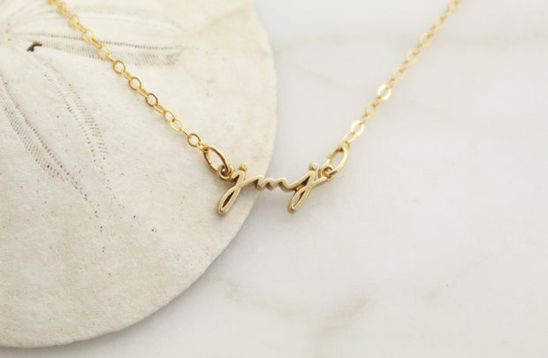 JMJ Necklace (back ordered - till December 10th)